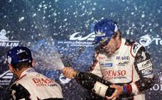 Alonso: «Ojalá siga la racha»