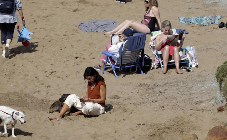 De un sábado de playa a un domingo de abrigo