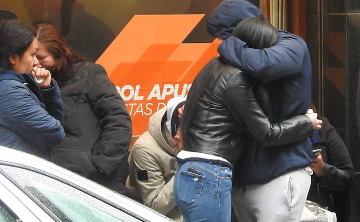 Dolor en Bermeo por la muerte del joven fallecido en un incendio
