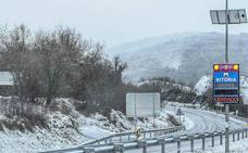 Euskadi, en aviso amarillo por nieve hasta el martes