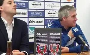 «Estos dos goles nos vienen bien a nivel de confianza», reconoce Lambea
