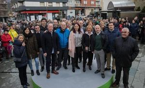 Ortuzar pide el voto para el PNV en las generales «para parar a la derechona»