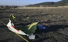 Las cajas negras avalan las «semejanzas» entre los dos accidentes del Boeing 737 MAX 8, según Etiopía