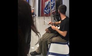 El joven que afiló un cuchillo en el Metro de Madrid es un cortador de jamón que iba a trabajar