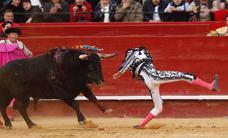 Así ha sido la cogida de Enrique Ponce en Valencia