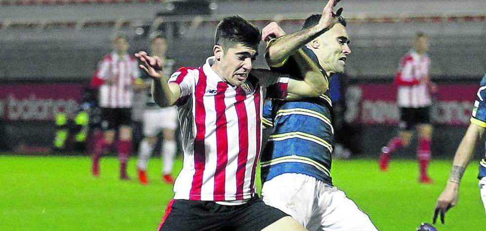 El Eibar quiere a Gaizka Larrazabal, extremo del Bilbao Athletic