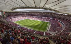 El Wanda Metropolitano bate el récord de San Mamés: 60.739 espectadores