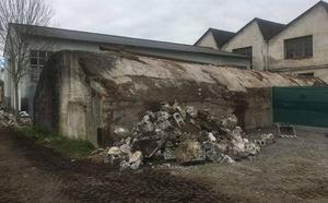 La restauración de un tercer búnker amplía el patrimonio de Gernika sobre el bombardeo