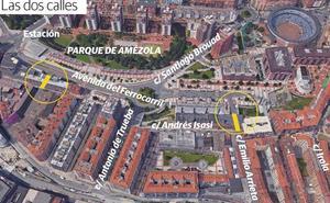 Dos nuevas calles unirán los barrios de Irala y Amézola