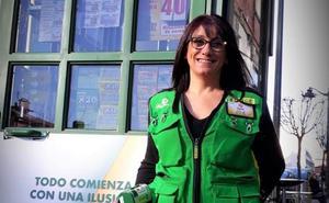 La mejor vendedora de la ONCE en Euskadi es de Santutxu