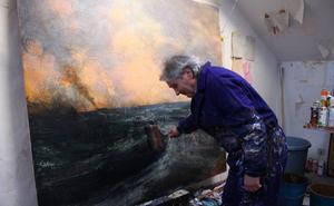 La mirada urbana del pintor de Artziniega Alejandro Quincoces