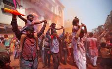 Holi, el festival del color en la India