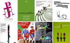 Últimos carteles anunciadores de las festividades de Estíbaliz y San Prudencio