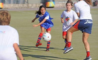 Vitoria acogerá el 5 de mayo torneos femeninos de fútbol, pelota, baloncesto y balonmano
