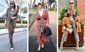 Las mujeres maduras de Instagram (bilbaínas incluidas) se apuntan a la mezcla de estampados