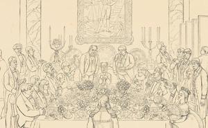 Un banquete para Godoy