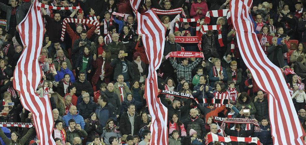 La recaudación del Athletic femenino en San Mamés irá para los 34 clubes convenidos