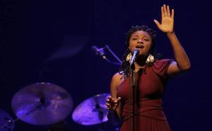 «El sur es paciente y generoso», dice la cantante Lizz Brigth, que actúa mañana en Bilbao