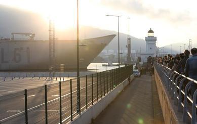 El 'Juan Sebastián Elcano' atracará en Getxo en julio tras el «cariño recibido» con el 'Juan Carlos I'