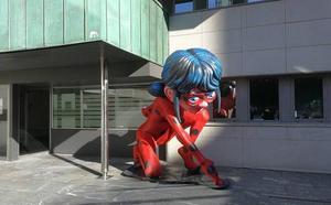 25 figuras gigantes de personajes infantiles animarán la Dársena de Portu en Barakaldo