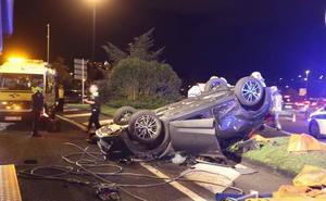 Un accidente de tráfico al día en Getxo