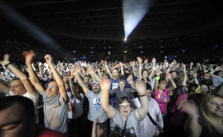 Éxito total del concierto 'Yo fui a EGB' de Bilbao