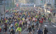 Miles de ciclistas, a la conquista de la Bilbao-Bilbao 2019