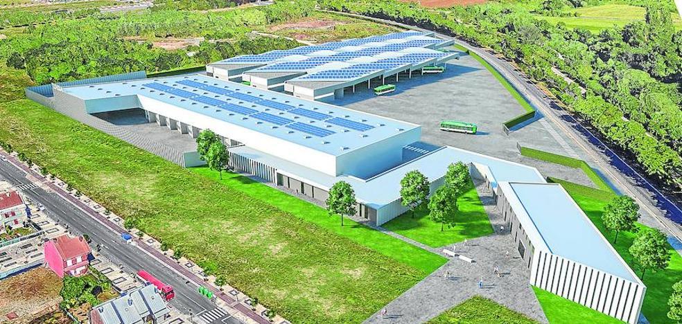 El nuevo 'cuartel general' de Tuvisa acogerá al 'bus exprés' desde su llegada en verano de 2020