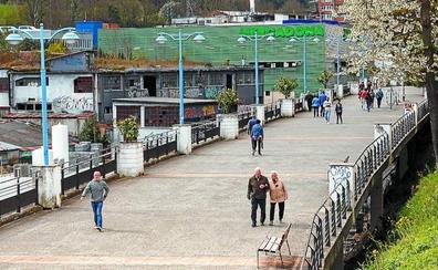 La reforma del paseo de Amaña creará un nuevo bidegorri