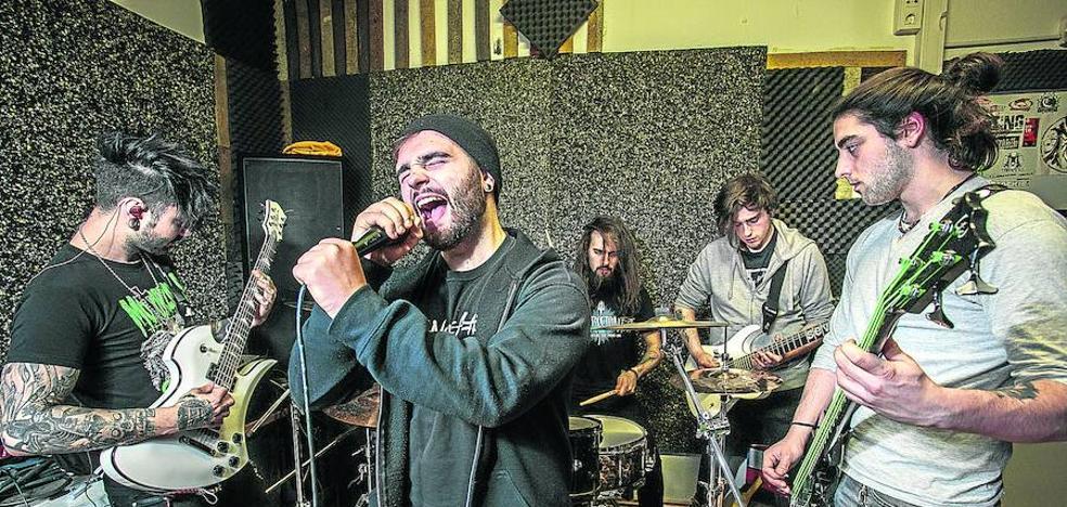La banda sonora de los grupos emergentes en Vitoria