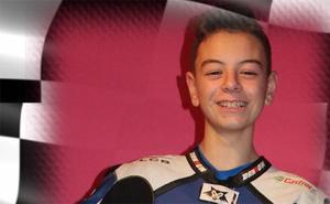 Adiós a Marcos, el niño piloto de 14 años que soñaba con ser como Rossi