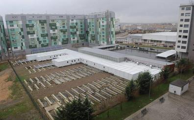 Las familias de Aldaialde denuncian la falta de avances en la construcción del nuevo colegio