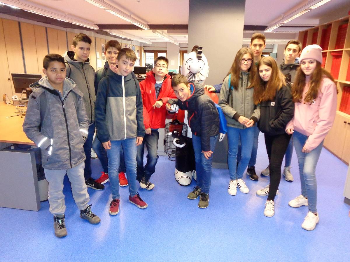 Visita centro escolar Mercedarias (Vitoria-Gasteiz) - 20 de marzo de 2019
