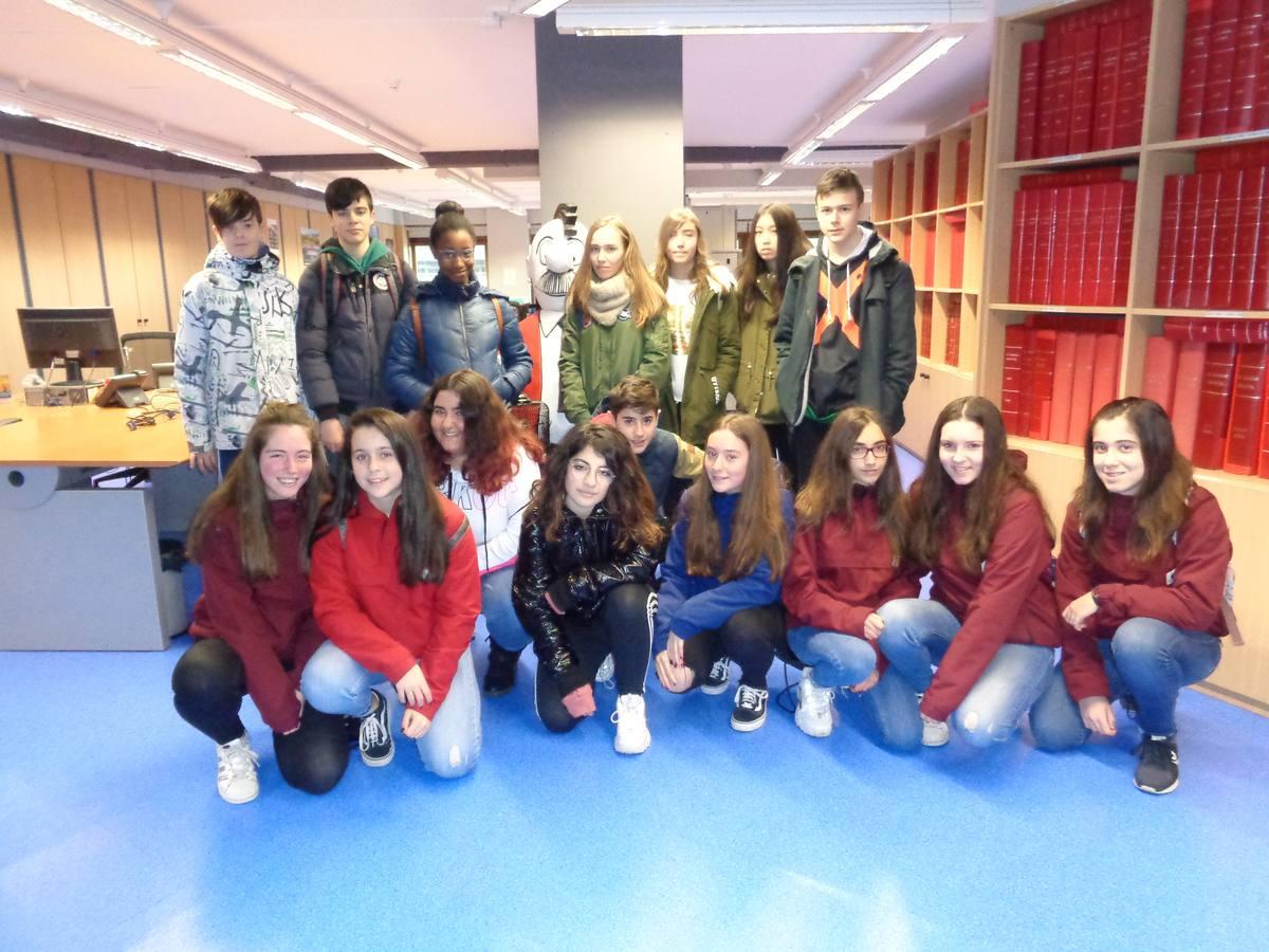 Visita centro escolar San Viator (Vitoria-Gasteiz) - 15 y 22 de marzo de 2019