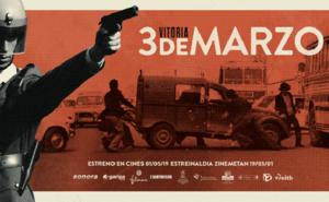 'Vitoria 3 de marzo' se estrenará en treinta salas el 1 de mayo