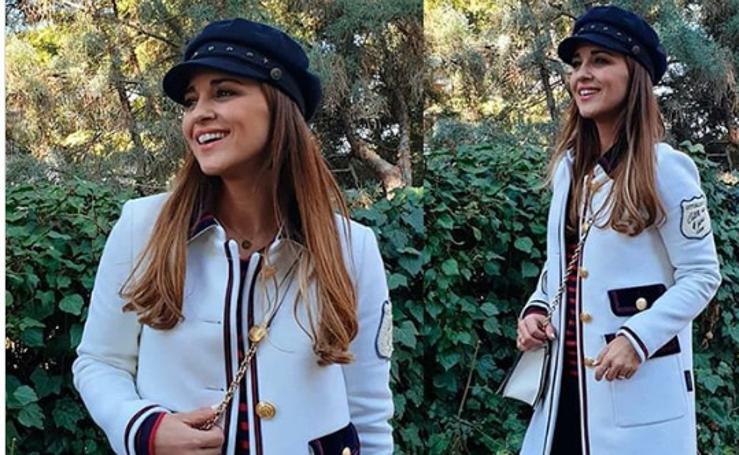 Paula Echevarría encuentra en Getxo el truco de sus looks parisinos