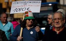 El número de pensiones crece en Euskadi un 1,4 % en marzo y alcanza las 556.496