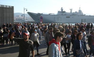 El presidente del puerto de Bilbao califica la polémica con el portaaviones de «artificial»