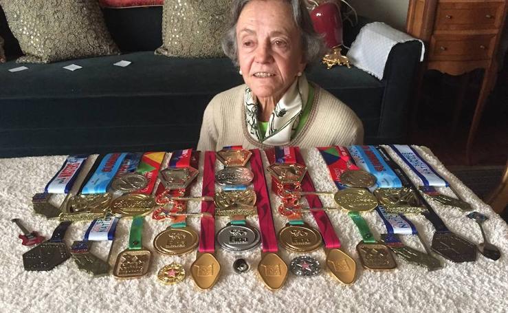 Las medallas de Ibone