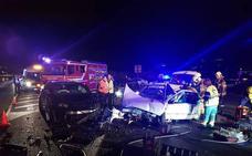 Cuatro heridos en un choque frontolateral en Erandio