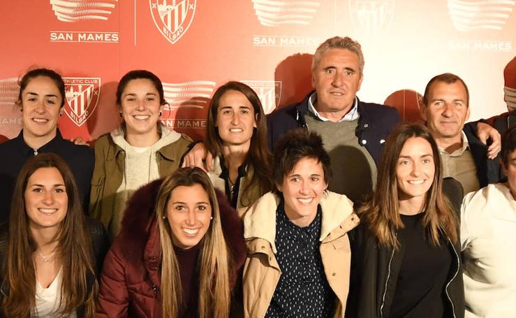 Presentación de '48.121: historia de un récord en San Mamés', un documental sobre el Athletic femenino