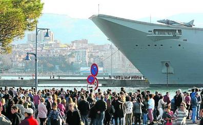 PNV y PSE rectifican en Getxo y rechazan ahora una moción contra los buques de guerra