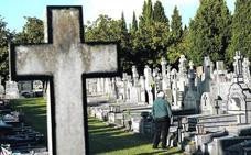Rebajas del 50% en el cementerio de Derio