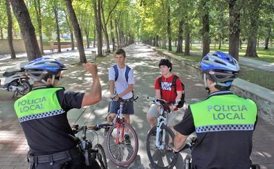 Bilbao frena «de momento» las patrullas de la Policía en bicicleta