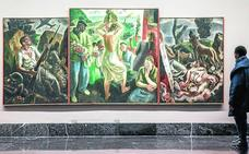 El arte privado se exhibe en público