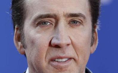 Nicolas Cage grita a su novia antes de la boda