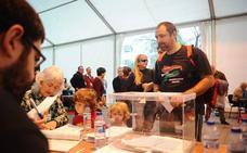 Los barrios de Usansolo empiezan a recibir los sobres para votar sobre la desanexión