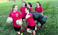 El fútbol femenino tiene tirón en Bizkaia