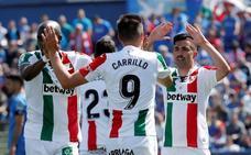 Michael Santos emerge en Getafe para acercar al Leganés a la salvación