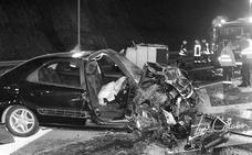 Tres estudiantes muertas por un 'fitipaldi' en Elorrio
